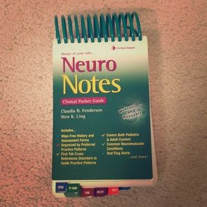Neuro Notes Pocket Guide for Physical Therapists